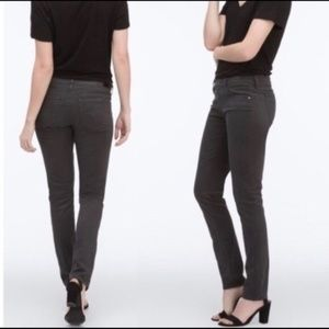 AG Adriano Goldschmied Stilt Charcoal Sateen Jeans